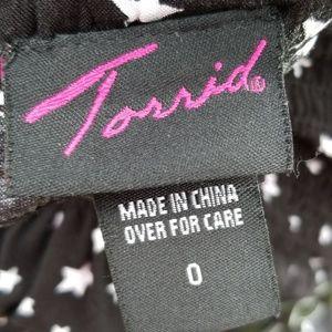 torrid Dresses - 🌠TORRID BLACK DRESS WITH WHITE STARS